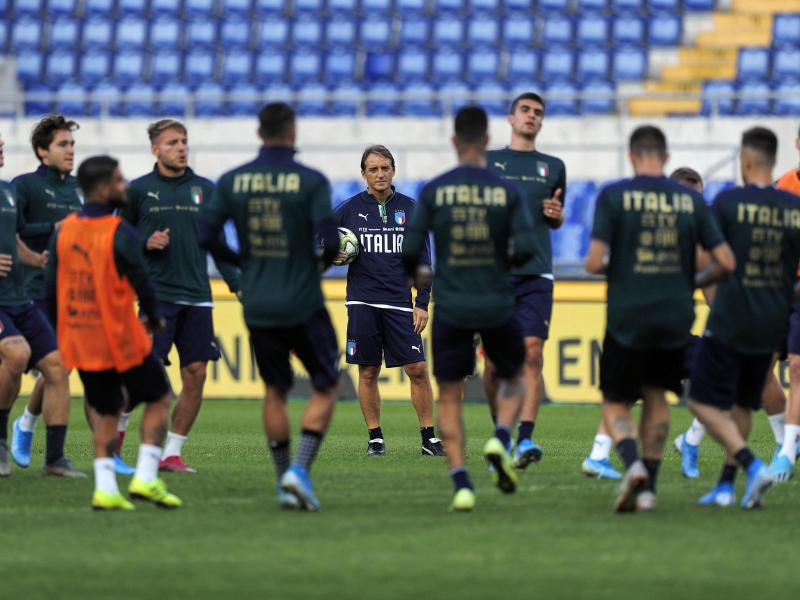 Confirmed starting lineups: Italy vs Greece