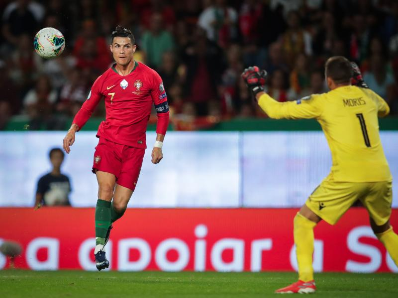 WATCH: Cristiano Ronaldo's stunning chip against Luxembourg