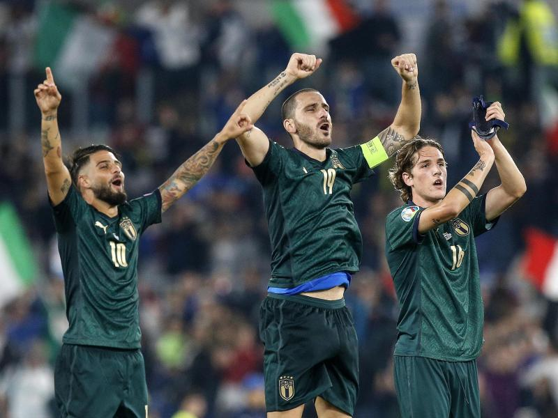 🇮🇹🇬🇷 Italy keep up perfect Euro 2020 qualifiers record after 2-0 win over Greece