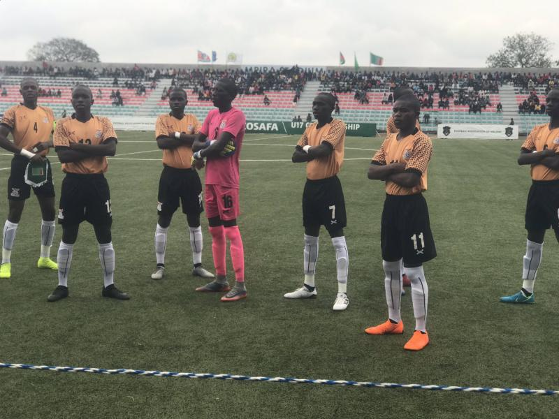 COSAFA Men's U-17: Undefeated Zambia through to the final