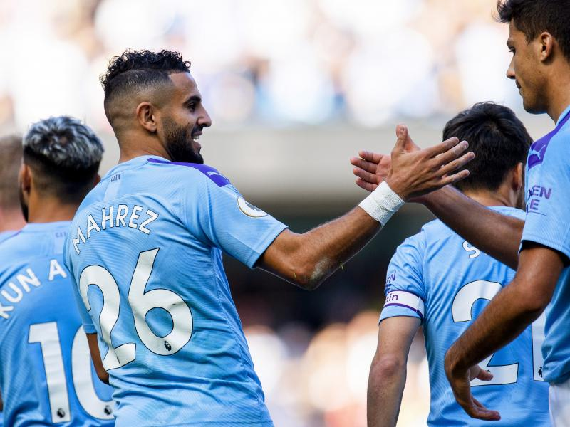 Riyad Mahrez wins Manchester City's Player of the Month for September
