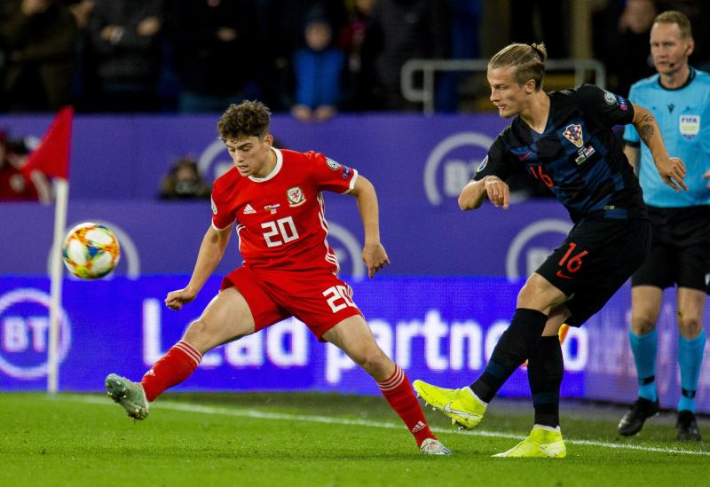 Daniel James provides an injury update after collision in Wales draw against Croatia