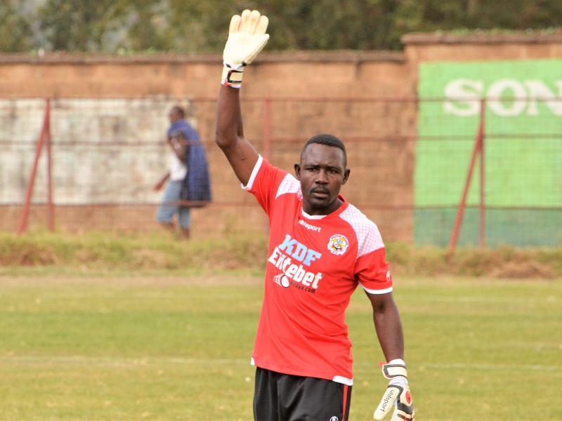 Kenya Defence Force honors former Harambee Stars keeper