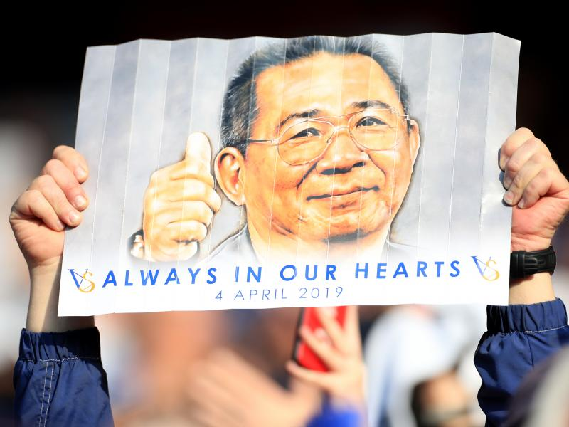 Leicester to honour late chairman with memorial garden