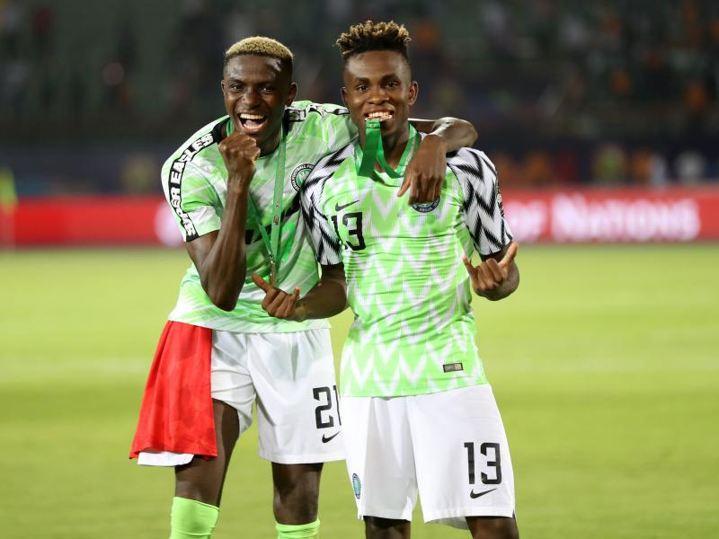 Barcelona target two Super Eagles players