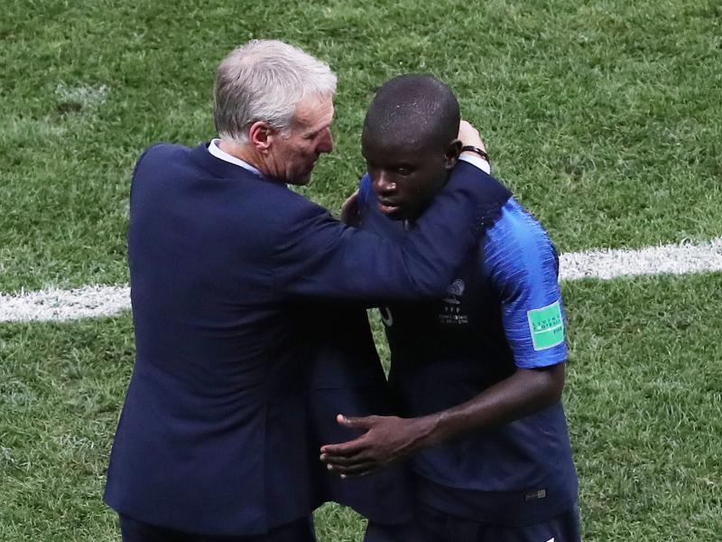 Frank Lampard criticizes France's treatment of N'Golo Kante