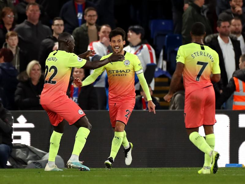 Crystal Palace 0-2 Manchester City: Pep Guardiola's men return to winning ways