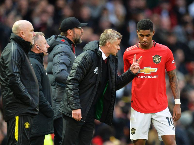 Marcus Rashford backs Ole Gunnar Solskjaer after Mauricio Pochettinho sacking
