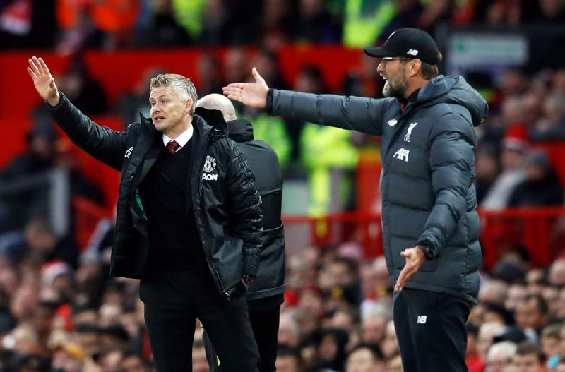 Jurgen Klopp aims a dig at Manchester United after Liverpool win