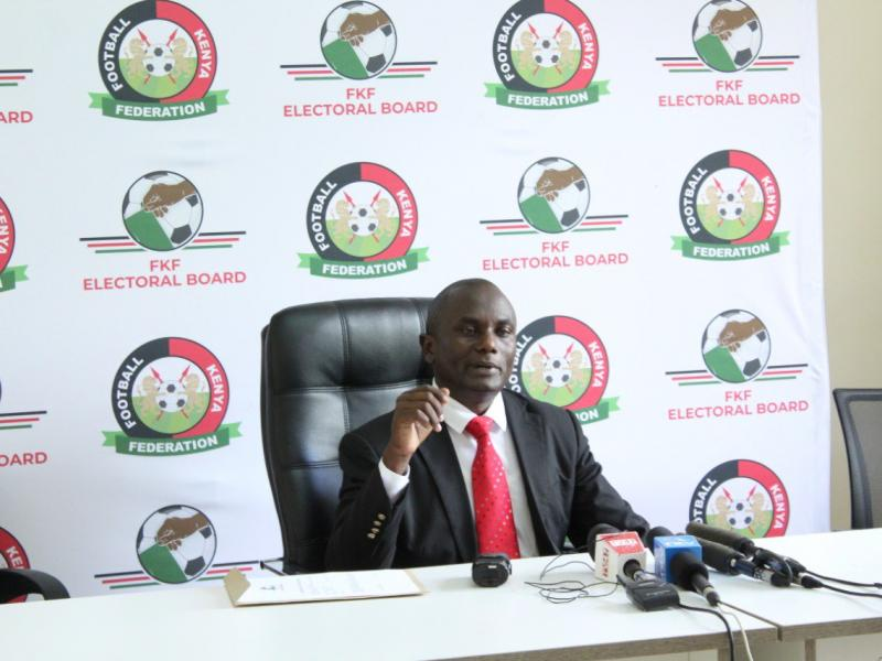 FKF Polls: Herbert Mwachiro the latest entrant in the Presidential race
