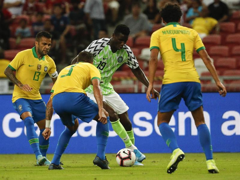 Rohr on in-form Onuachu: A team can't adapt to a player, he has to adapt to the team
