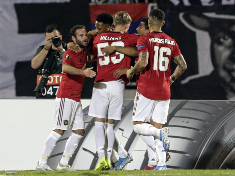 Partizan 0-1 Manchester United: Ole Gunnar's men take control of Group L with important win