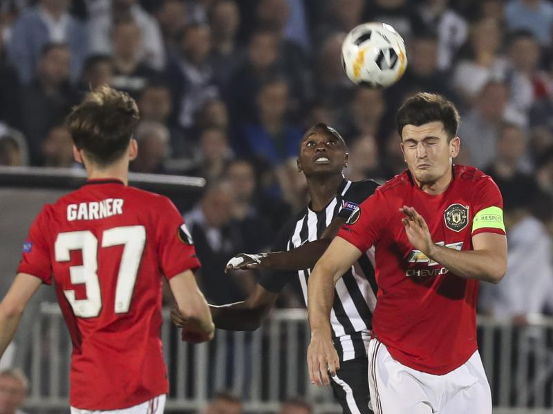 Four changes for Man United as Ole Gunnar names experienced lineup for Partizan test