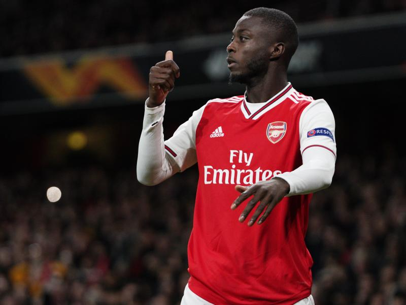 Henry defends Nicolas Pepe, sends message to Arsenal fans