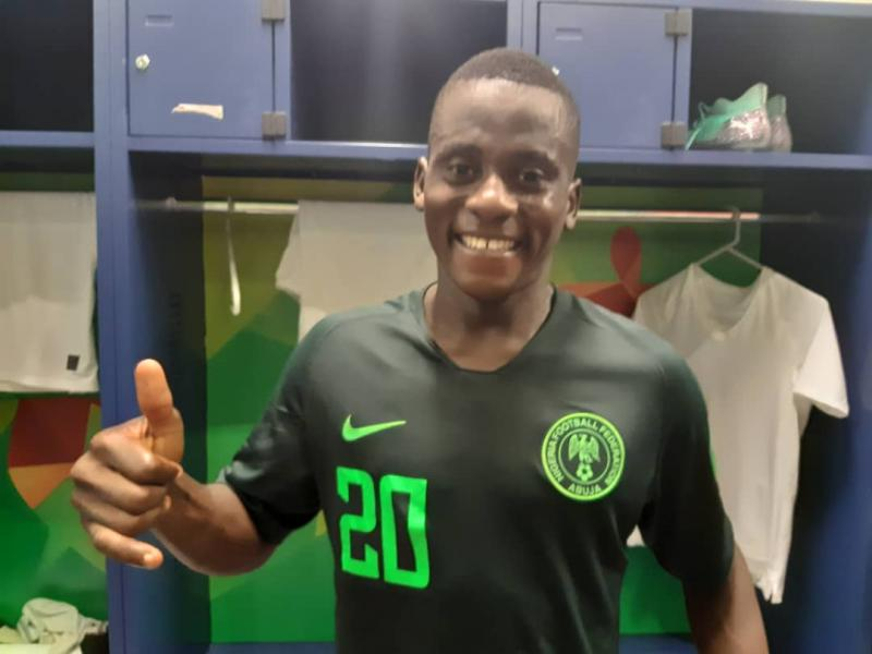 FIFA nominate Nigeria's Said's strike for U17 World Cup Goal Of Tournament award