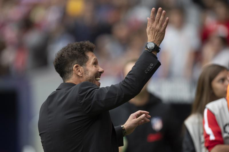 😿 Emotional return to Seville for Diego Simeone