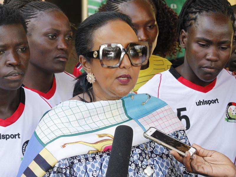 KPL clubs mourn the death of CS Sports Amina Mohammed's husband