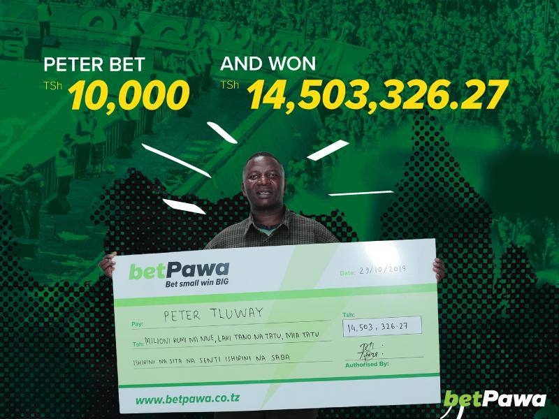 Patience, friends and a huge win bonus help betPawa customer win TSh14,503,326.27