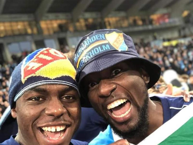 Edward Chilufya wins Swedish Allsvenskan with Djurgadens IF