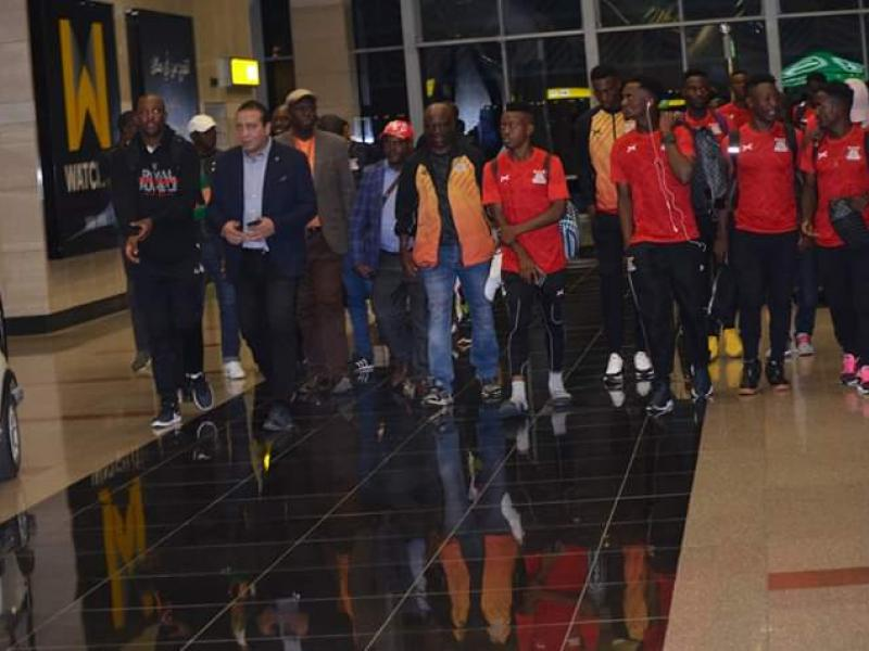 🇿🇲 🇪🇬 U23 AFCON: Zambia arrives in Egypt
