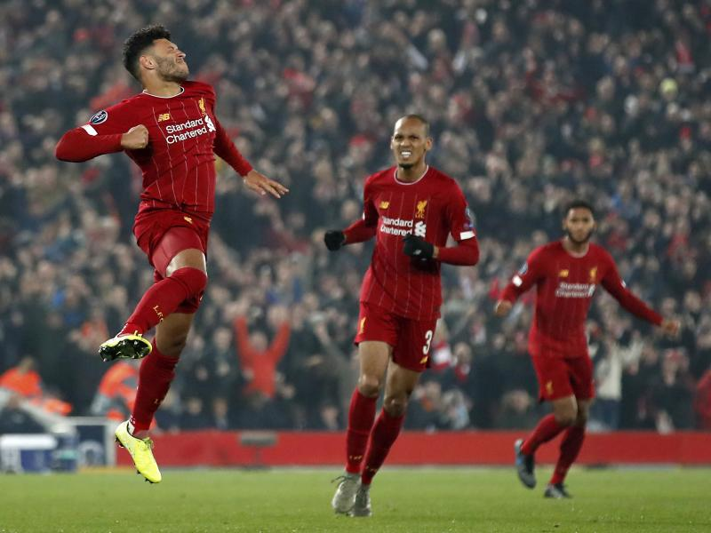 Liverpool on verge of joining elite group in English Premier League history