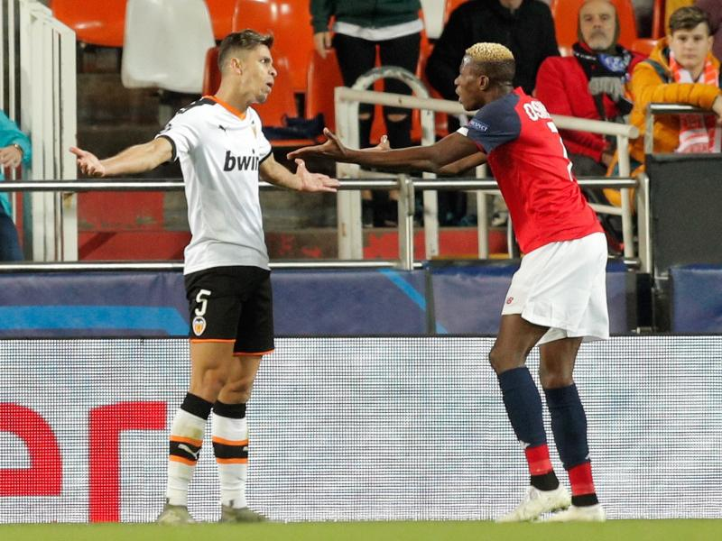 Valencia 4-1 Lille: Osimhen scores first away goal but French club get humiliated