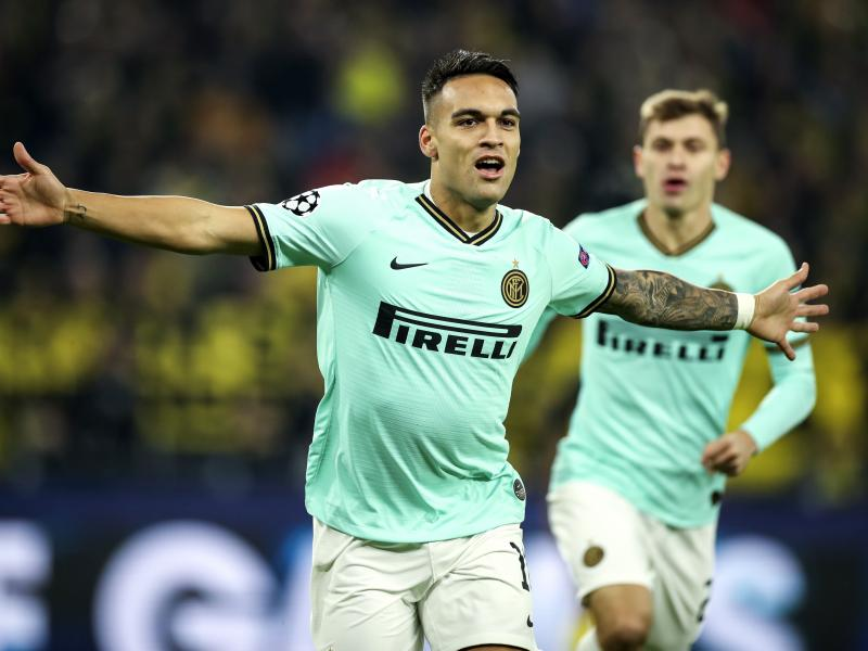 Lautaro Martinez becomes first Inter player to level Samuel Eto'o's UCL record
