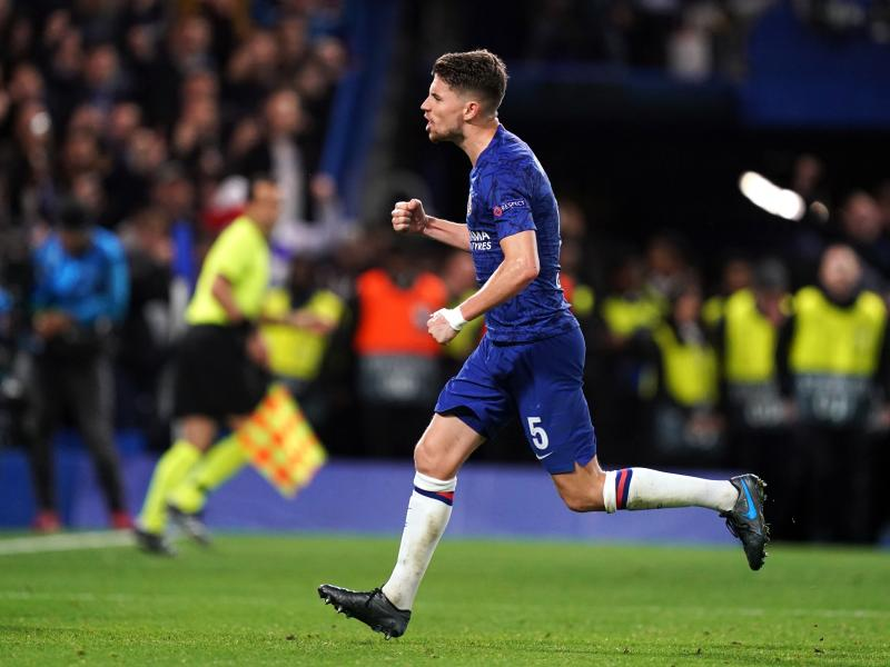 Jorginho rates Chelsea's title ambitions ahead of Manchester City clash