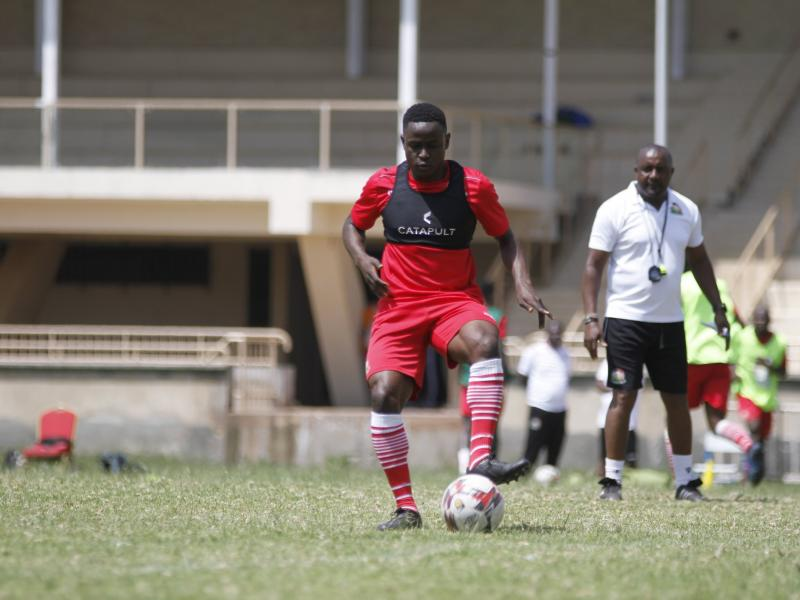 Harambee Stars players off to Egypt