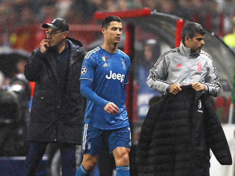 Maurizio Sarri explains why Cristiano Ronaldo reacted angrily to his substitution