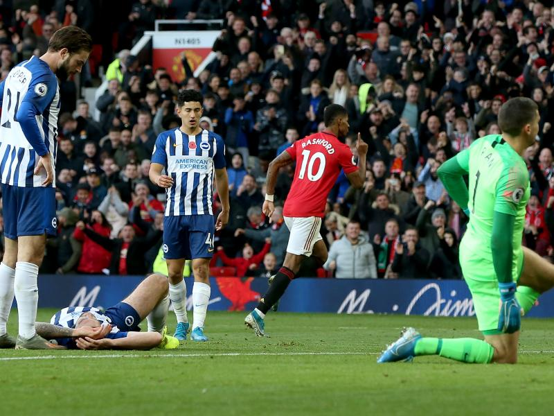 Brighton vs Manchester United: Bet on Rashford & Martial to breach a leaky Seagulls back-four