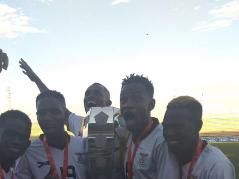 Zambia win the 2019 Dr Geingob Cup