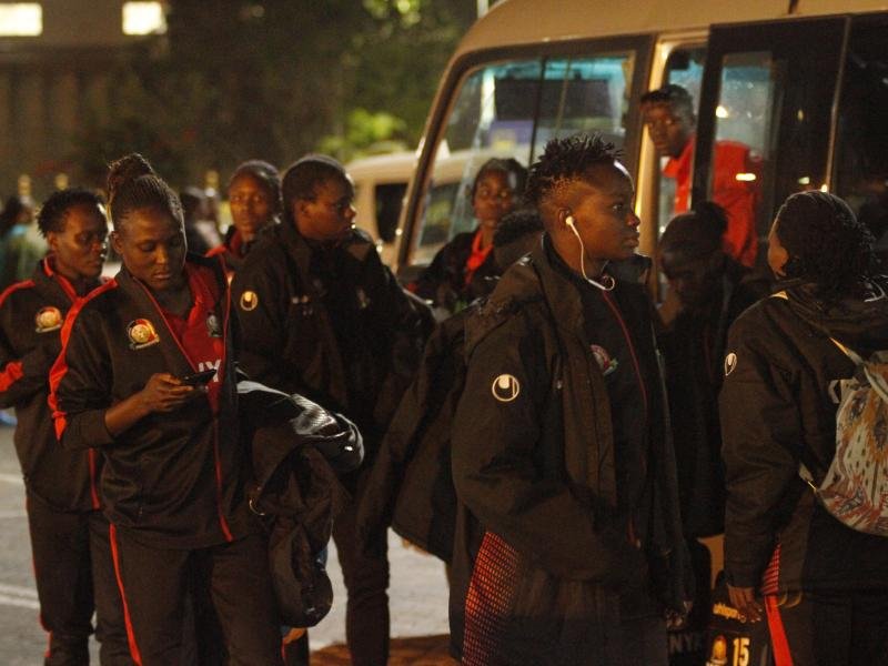 Kenya's Harambee Starlets departs for Turkey