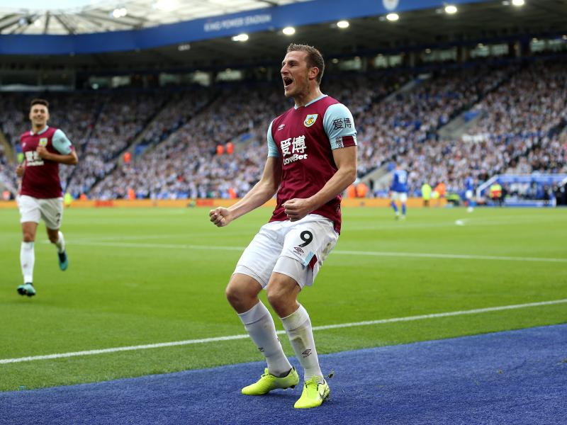 "Chris Wood: ""It was nice to bounce back like that,"" after Burnley win at Turf Moor"