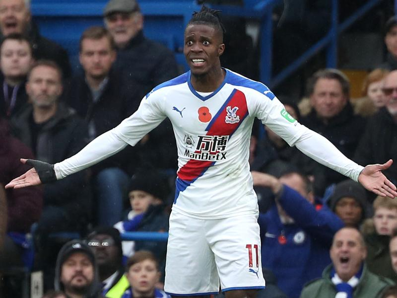 Wilfred Zaha opens up about links with Arsenal