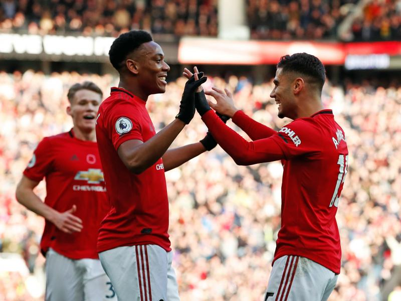 Andreas Pereira lauds Manchester United trio after win over Brighton and Hove Albion