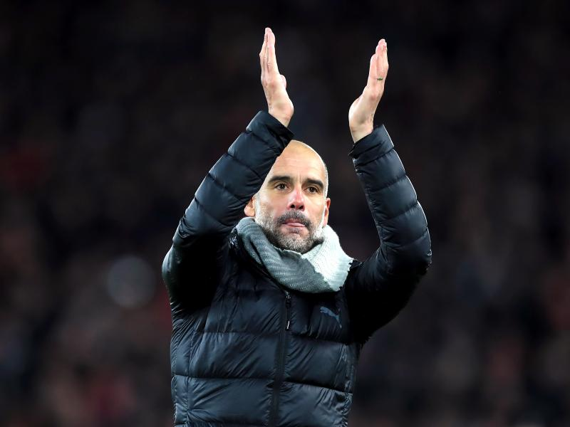 Pep Guardiola reacts to Ole Gunnar Solskjaer's claim Manchester United are bigger than Man City
