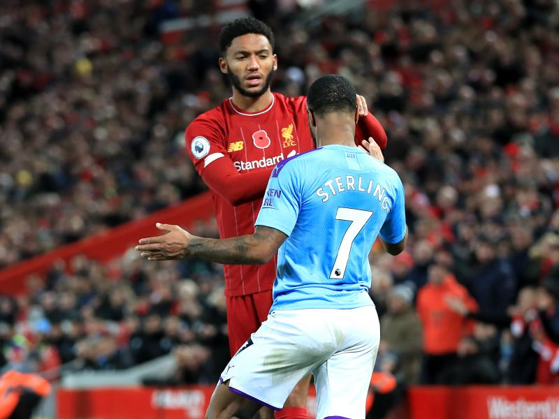 Raheem Sterling dropped from England squad after bust-up with Liverpool's Joe Gomez