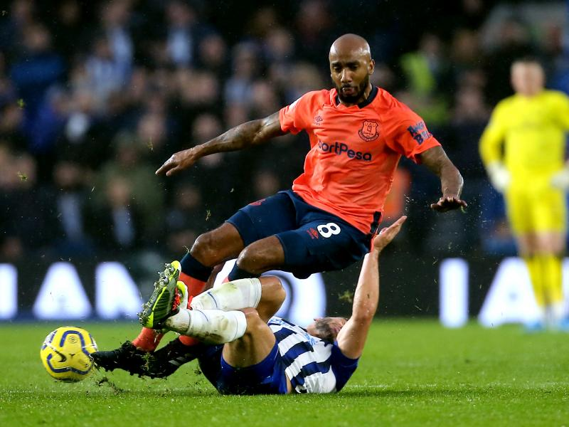 Everton midfielder Fabian Delph withdraws from England squad with an injury