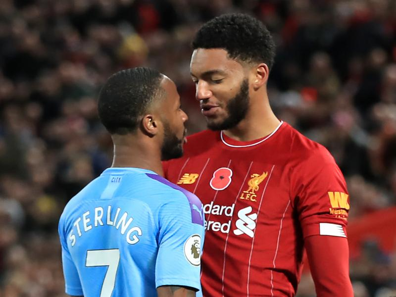 Chelsea winger defends Raheem Sterling following bust-up with Joe Gomez