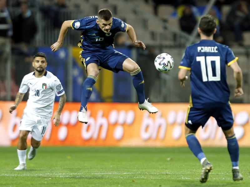 📝 Bosnia 0-3 Italy: Azzurri break 80-year-old record to cruise into Euro 2020 finals