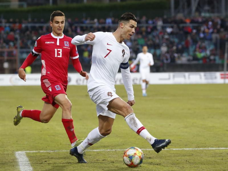 Luxembourg 0-2 Portugal: Ronaldo scores 99th international goal as holders qualify for Euro 2020