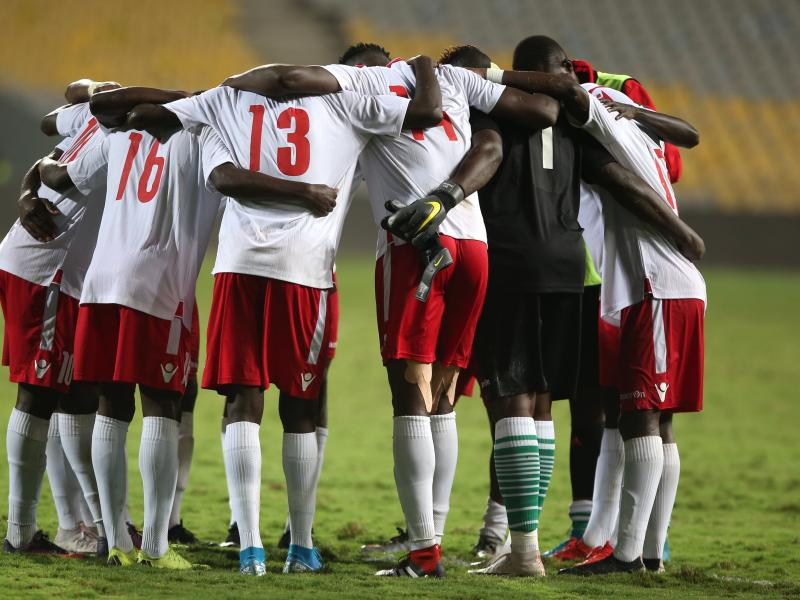 Harambee Stars' starting lineup against Togo