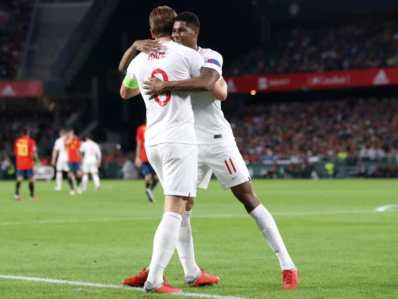 🦁🦁🦁 A look at the incredible form of Harry Kane & Marcus Rashford