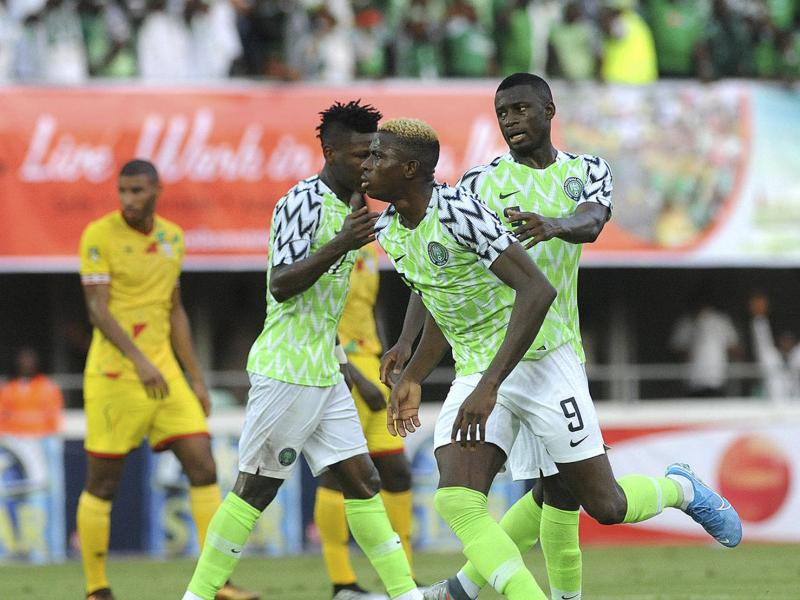 Lesotho 2-4 Nigeria: Ighalo thumbs up Osimhen