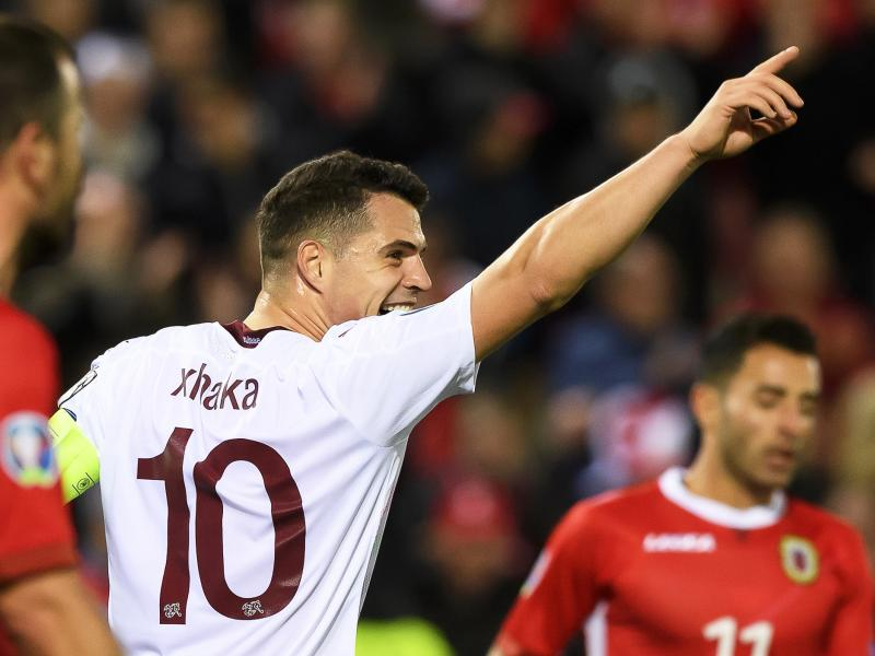 Euro 2020 Roundup: Xhaka scores as Switzerland qualify