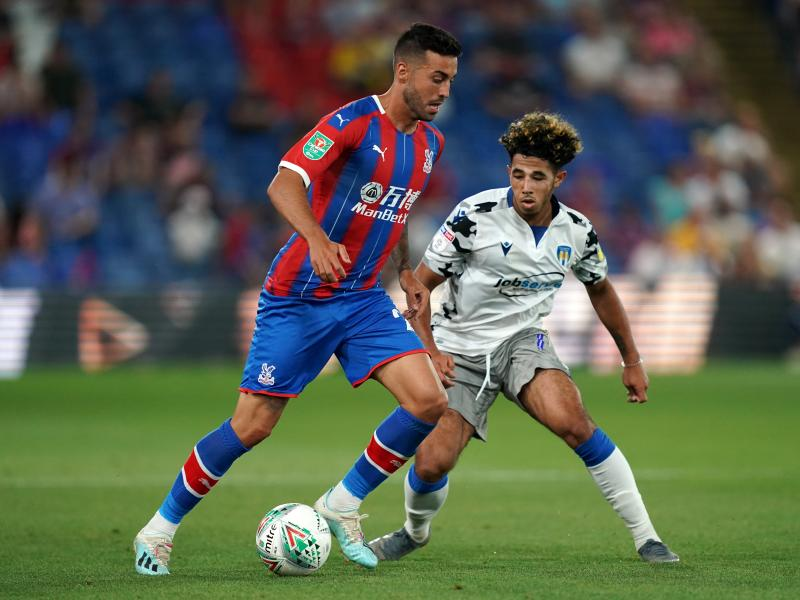 Victor Camarasa set to leave Crystal Palace for Norwich City