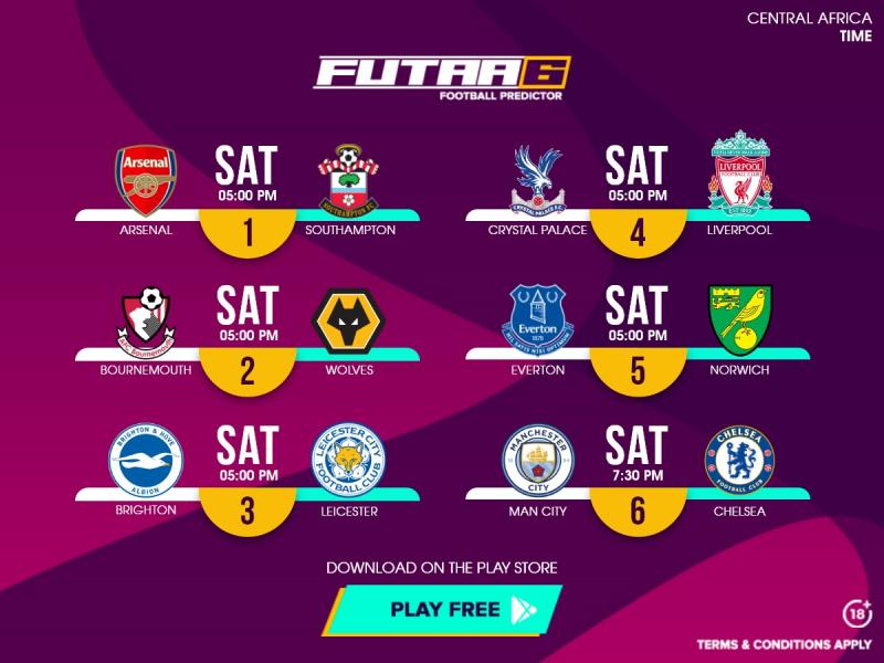 📊💰 Round 1 of the Futaa6 score predictor can land massive wins with the right stats