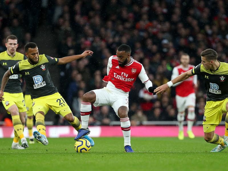 Arsenal 2-2 Southampton: Lacazette hits late leveller for the Gunners