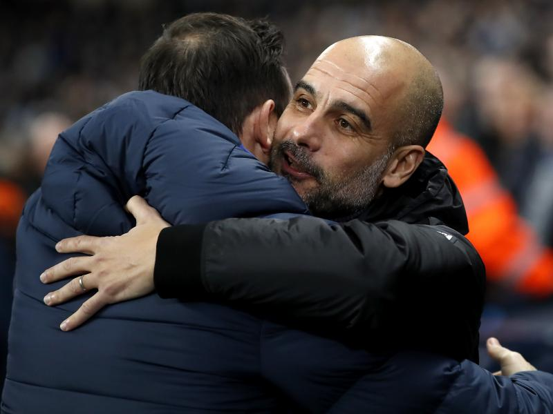Guardiola hails Lampard, Chelsea following Etihad showing